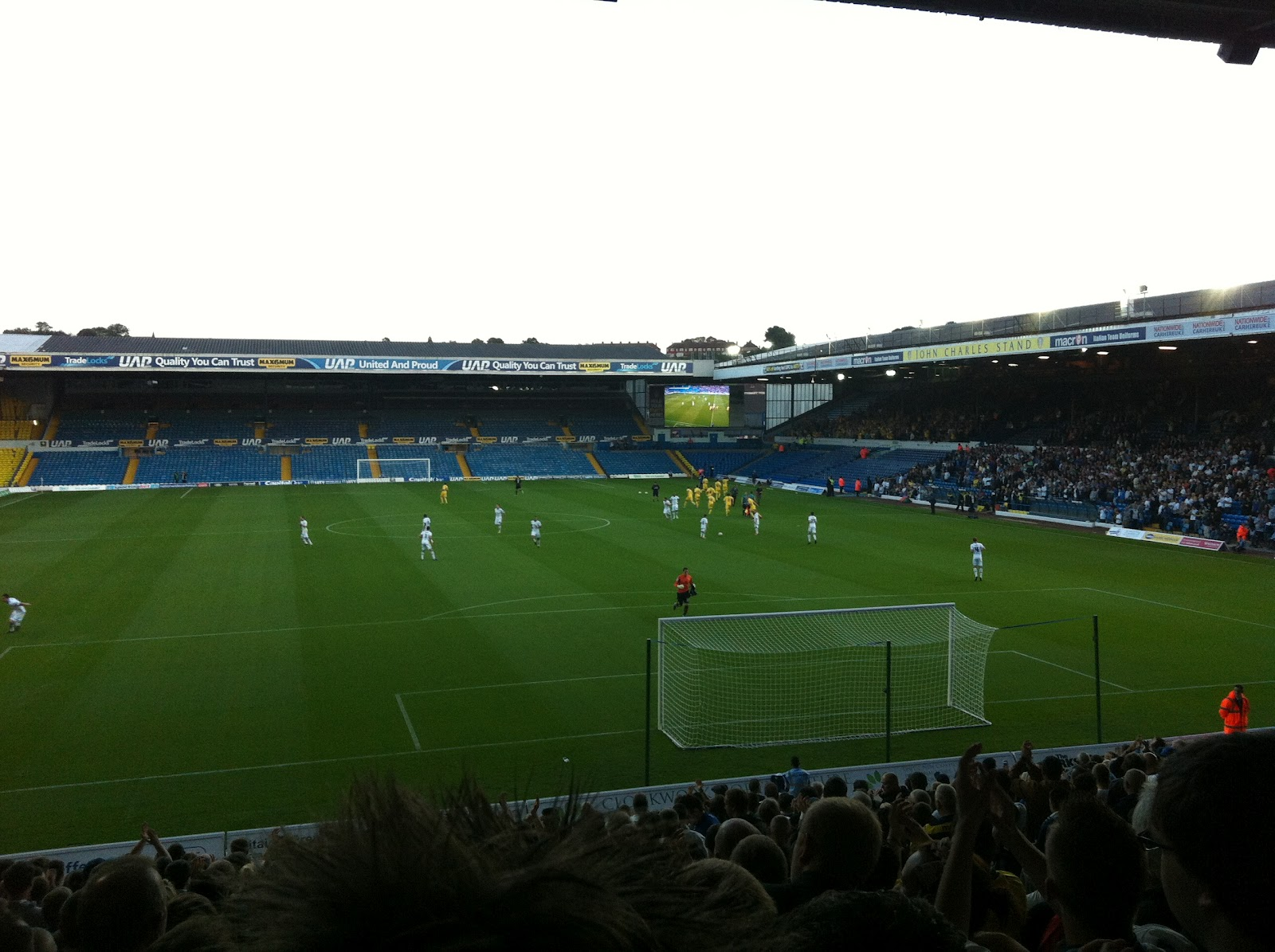 Elland road intimidating atmosphere lyrics